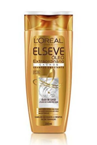 Shampoo Óleo Extraordinário Cachos Elseve 200 ml, L'Oréal Paris