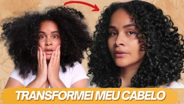 BABOSA NO CABELO: Hidratação de babosa RECUPERA cabelos cacheados ressecados